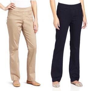 Pants - SALE 5 for $25 Khaki/black pull on casual pants